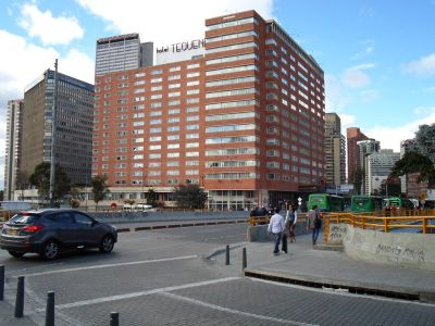 El Hotel Crowne Plaza Tequendama