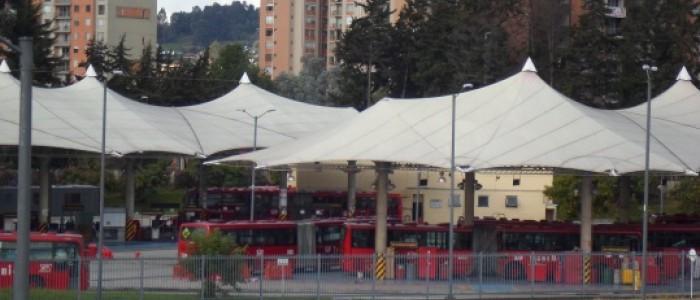 Terminal  de transmilenio Portal de Suba